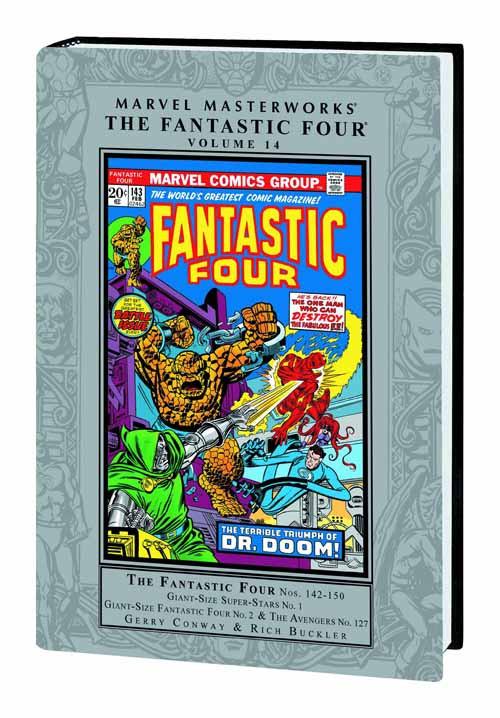 Marvel Masterworks MMW Fantastic Four HC Vol 14 -- JUN120710
