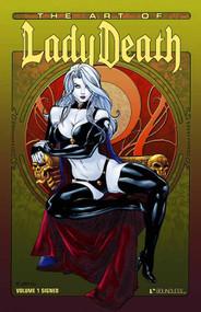 Art Of Lady Death Signed HC Vol 01 -- JUN120967