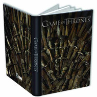 Game Of Thrones Journal Throne -- DEC130185