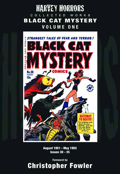 Harvey Horrors Collection Works Black Cat Mystery HC Vol 01 -- JUN121242