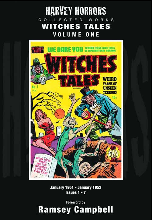 Harvey Horrors Collection Works Witches Tales HC Vol 01 -- JUN121245