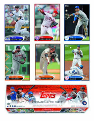 Topps 2012 Baseball Trading Card T/C Complete Set -- JUN121491