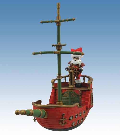 Santa Pirate Ship Minimate Vehicle Case -- JUN121776