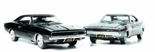 Bullitt 1/18 1968 Dodge Charger R/T Die-Cast Car -- JUN121799