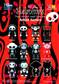 Skelanimals Artist Series 2.5In Qee 25 Piece BMB Ds -- JUN121817
