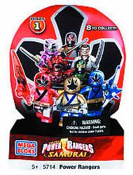 Mega Bloks Power Rangers MiniFigure Series 2 BMB Display -- JUN121856