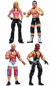 Tna Deluxe Impact Deluxe Action Figure Assortment -- JUN121861