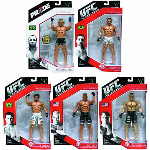 Ufc Deluxe Action Figure Assortment -- JUN121862