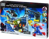 Mega Bloks Spider-Man 4 Oscorp Tower Battle Hq Set -- JUN121866