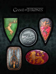 Game Of Thrones Shield Magnet Set -- DEC130195