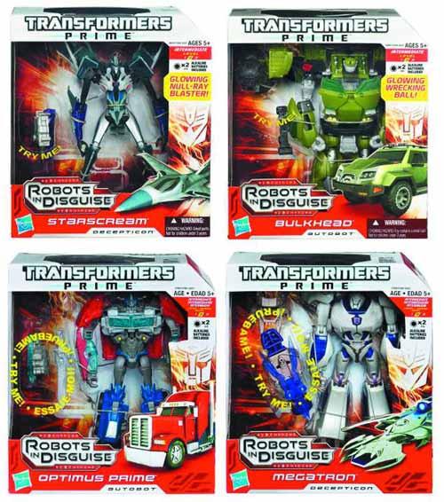 Transformers Prime Voyager Action Figure Assortment 201203 -- JUN121873