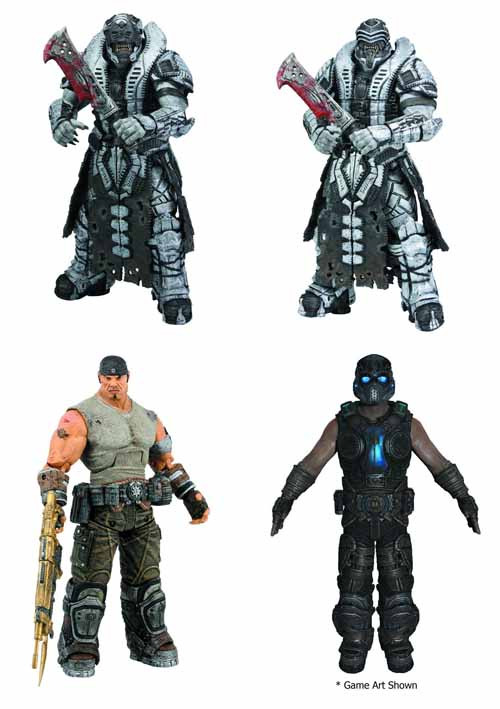 Gears Of War 3 Series 3 Action Figure Assortment -- JUN121881