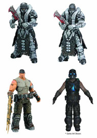 Gears Of War 3 Series 3 Action Figure Assortment -- JUN121881