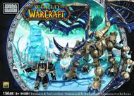 Mega Bloks World of WarCraft WOW Arthas & Sindragosa Set -- JUN121894