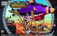 Mega Bloks World of WarCraft WOW Goblin Zeppelin Set -- JUN121898