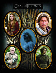Game Of Thrones Character Magnet Set 2 -- DEC130196