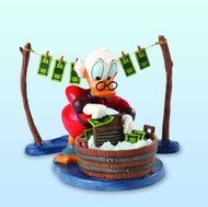 Disney Classics Coll WDCC Uncle Scrooge Laundry Day Statue -- JUN121906