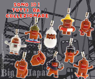 Domo Phone Strap 52Mm Capsule 100 Piece Assortment -- JUN121968