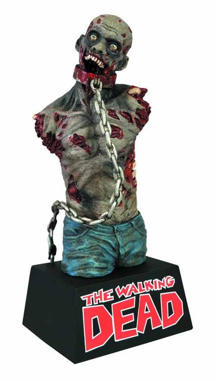 Walking Dead Bust Bank Zombie Pet -- Robert Kirkman Diamond -- DEC131827