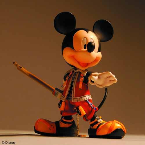 Kingdom Hearts Play Arts Action Figure 4 Piece Assortment -- JUN121980