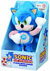 Sonic The Hedgehog Medium Talking Plush 6 Piece Assortment -- JUN122012