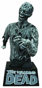 Walking Dead Bust Bank Zombie Black & White B&W -- Kirkman -- DEC131829