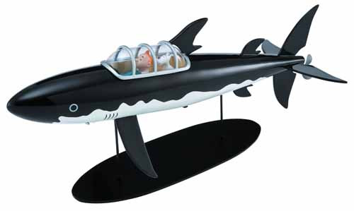 Tintin Submarine Limited Numbered Edition -- JUN122041