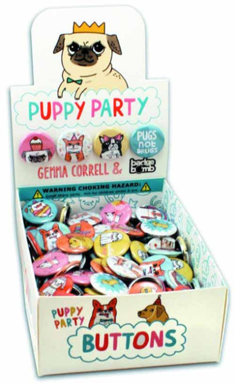 Puppy Party 1In Pin 200 Piece Ds -- JUN122048