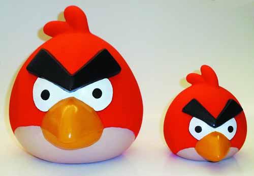 Angry Birds Small Roto Cast Bank Assortment -- JUN122060