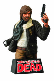 Walking Dead Bust Bank Rick Grimes -- Kirkman Diamond -- DEC131831