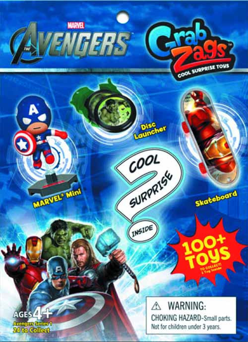 Marvel Avengers Movie Grab Zags 48 Piece Assortment -- JUN122071