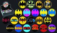 Batman Logo 144 Piece Button Assortment -- JUN122076