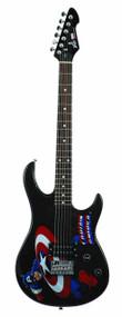 Captain America Rockmaster Electric Guitar -- JUN122108