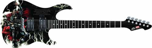Thor Predator Plus Exp Electric Guitar -- JUN122110