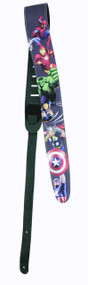 Marvel Six Leather Guitar Strap -- JUN122113