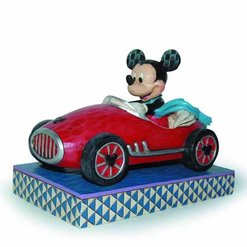 Disney Traditions Roadster Mickey Figure -- JUN122153