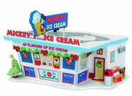 Disney Mickey Xmas Village Ice Cream Shop -- JUN122163