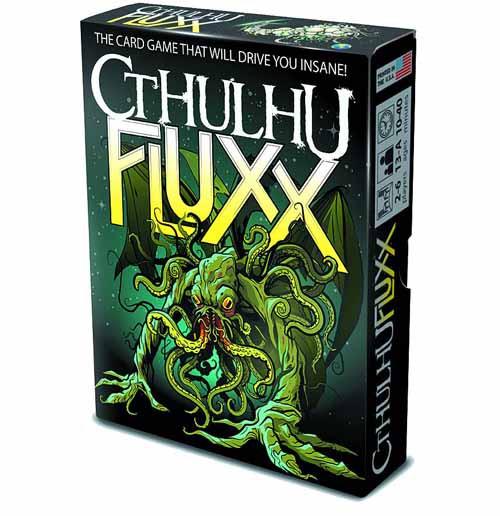 Cthulhu Fluxx Card Game Display -- JUN122191