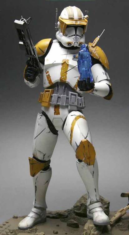 Star Wars Ep III Commander Cody Light Up Artfx Statue Kotobukiya -- MAR111826