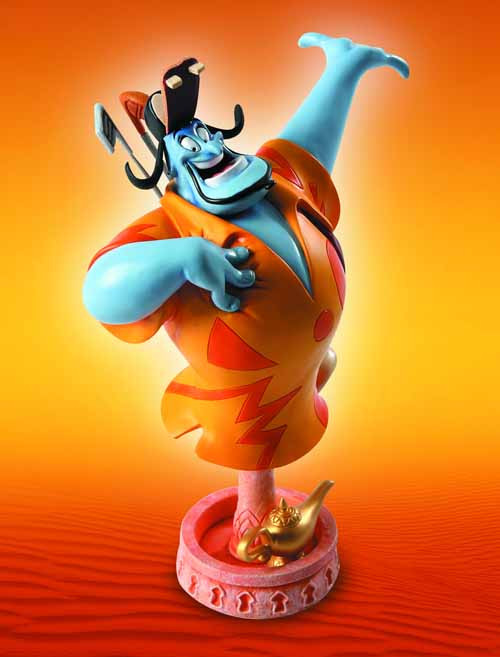 Grand Jester Aladdin Genie Mini-Bust -- Disney -- MAR121663