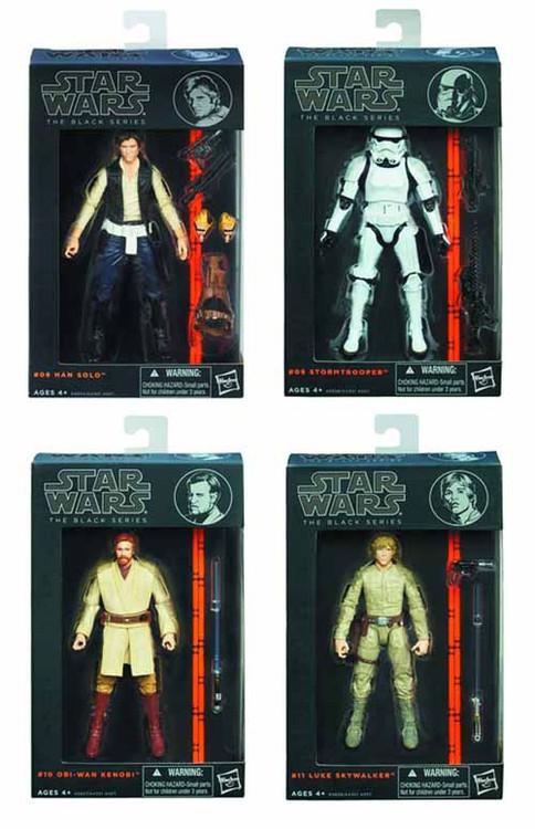 Star Wars Black 6-in Figure Assortment 201401 -- Hasbro -- DEC131897