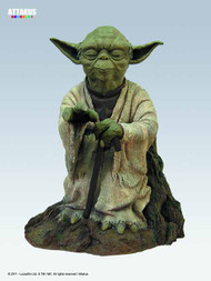 Star Wars Yoda 21in Statue -- Empire Strikes Back Attakus -- MAR121744
