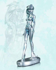 DC Comics Cover Girls Platinum Statue -- MAR130313