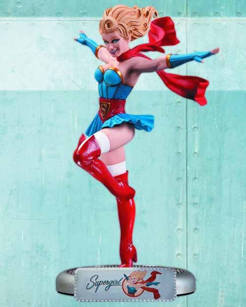 DC Comics Bombshells Supergirl Statue -- MAR130317
