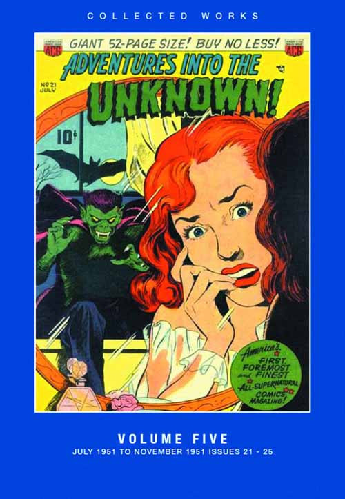 ACG Coll Works Adv Into Unknown HC Vol 05 -- MAR131260