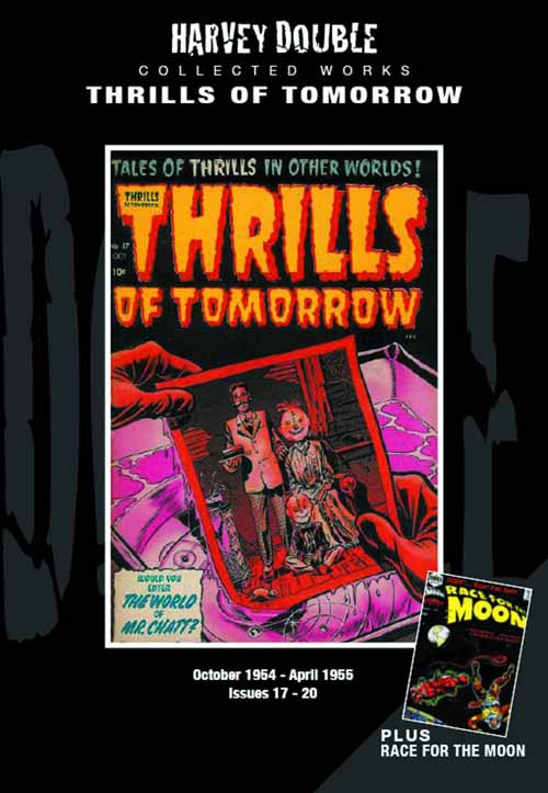 Harvey Double Coll Works Thrills Of Tomorrow HC Vol 04 -- MAR131262