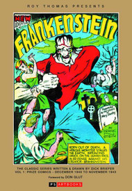 Roy Thomas Presents Briefer Frankenstein HC Vol 01 -- MAR131265