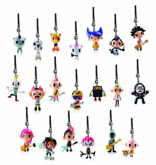 Tokidoki Punkstar Frenzies 30-Piece BMB Display -- MAR131939