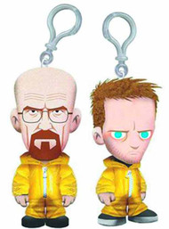 Breaking Bad 4-In Plush Clip-On Assortment -- MAR131950