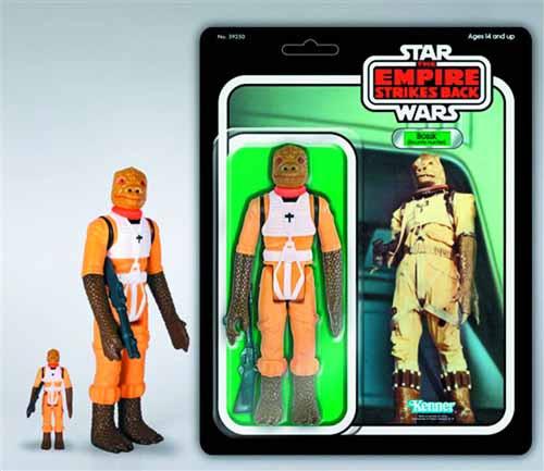 Star Wars Kenner Bossk Jumbo Act Fig--Empire Strikes Back -- MAR131970